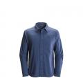 Denim - Black Diamond - Men's L/S Chambray Modernist Shirt