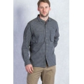 Cinder - ExOfficio - Men's Air Strip Micro Plaid Long Sleeve Shirt