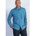 Atlantic - ExOfficio - Men's Air Strip Micro Plaid Long Sleeve Shirt