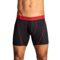 Black - ExOfficio - Men's Give-N-Go Sprt Mesh 6'' Boxer Brief