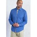 Prussian - ExOfficio - Men's BugsAway Hakuna Long Sleeve Shirt