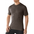 Taupe - Smartwool - Men's NTS Micro 150 Pattern Tee