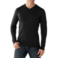 Charcoal Heather - Smartwool - Men's Kiva Ridge V-Neck