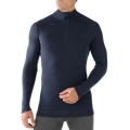 Deep Navy - Smartwool - Men's NTS Mid 250 Zip T