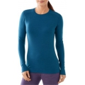 Glacial Blue Heather - Smartwool - Women's NTS Mid 250 Crew