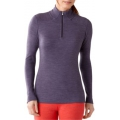 Desert Purple Heather - Smartwool - Women's NTS Mid 250 Zip T