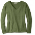 Light Loden Heather - Smartwool - Women's Granite Falls V-Neck