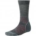 Medium Gray - Smartwool - Men's PhD Outdoor Light Crew Socks
