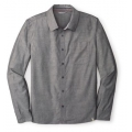 Charcoal - Smartwool - Men's Summit County Chambray Long Sleeve