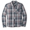 Charcoal - Smartwool - Men's Summit County Plaid Long Sleeve