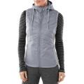 Silver - Smartwool - Women's Double Propulsion 60 Hooded Vest