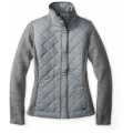 Light Gray Heather - Smartwool - Women's Pinery Quilted Jacket