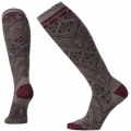 Taupe Heather - Smartwool - Women's Lingering Lace Knee High