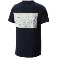 Collegiate Navy - Columbia - Men's Periodic Chart S/S Tee