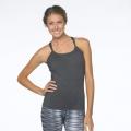 Charcoal Heather - Prana - Women's Quinn Chakara Top