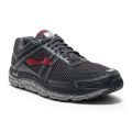 Anthracite/High Risk Red/Silver - Brooks Running - Men's Addiction 12