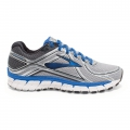 Silver/ElectricBrooksBlue/Blac - Brooks Running - Adrenaline GTS 16