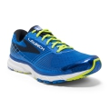 Electric Brooks Blue/Lime Punch/Black - Brooks Running - Launch 3