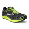 Metallic Charcoal/Black/Nightlife - Brooks Running - Transcend 3