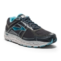 Anthracite/Bluefish/Silver - Brooks Running - Addiction 12