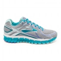Silver/Bluebird/BlueTint - Brooks Running - Adrenaline GTS 16