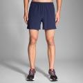 """Navy - Brooks Running - Men's Sherpa 5"""" Short"""