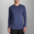 Heather Coast Forge - Brooks Running - Distance Long Sleeve