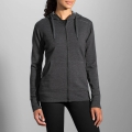 Heather Black - Brooks Running - Distance Hoodie
