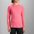 Heather Poppy/Sol Shine - Brooks Running - Distance Long Sleeve