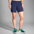 "Navy - Brooks Running - Women's Chaser 7"" Short"