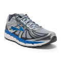 Silver/Electric Brooks Blue/Ebony - Brooks Running - Men's Beast '16