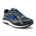 Asphalt/Electric Brooks Blue/Black - Brooks Running - Men's Dyad 9