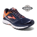 Peacoat/Red Orange/Black - Brooks Running - Men's Ghost 9
