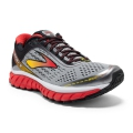 Alloy/High Risk Red/Black - Brooks Running - Men's Ghost 9