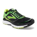 Black/Classic Green/Lime Punch - Brooks Running - Men's Ghost 9