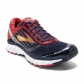 PeacoatNavy/TrueRed/Gold - Brooks Running - Men's Ghost 9