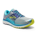 Silver/Blue Atoll/Lime Punch - Brooks Running - Women's Glycerin 14