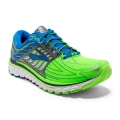 Green Gecko/Electric Blue Lemonade/Anthracite - Brooks Running - Men's Glycerin 14