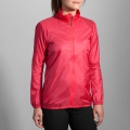 Poppy/Asphalt - Brooks Running - Women's LSD Jacket