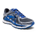 Anthracite/Electric Brooks Blue/Silver - Brooks Running - Men's Adrenaline GTS 17