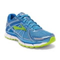 Azure Blue/Palace Blue/Lime Punch - Brooks Running - Women's Adrenaline GTS 17