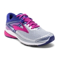 Silver/Clematis Blue/Very Berry - Brooks Running - Women's Ravenna 8