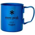 Fresh Blue BL - Snow Peak - Titanium Double Wall Cup