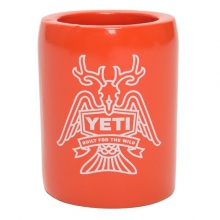 Horn Fin and Feather Can Insulator Orange by Yeti Coolers in Waynesville NC