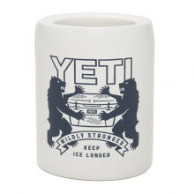 Coat of Arms Can Insulator White by Yeti Coolers in Victor Id