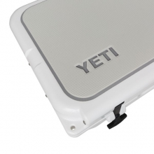 YETI Tundra 125 SeaDek: Dble Ply: Cool Gray/Storm Gray by Yeti Coolers in Bluffton Sc