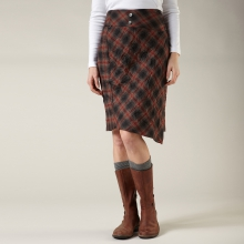 CRIMPED FLANNEL SKIRT - REGULAR FIT by Royal Robbins