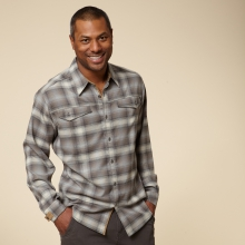 TAOS HEATHERED FLANNEL L/S - REGULAR FIT by Royal Robbins
