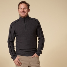 FIRESIDE WOOL 1/4 ZIP - REGULAR FIT by Royal Robbins