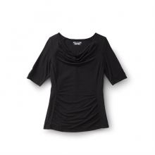 Women's Essential Tencel Cowl Neck Short Sleeve in Fairbanks, AK